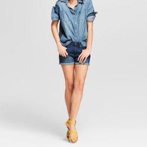 High Rise Denizen Shorts